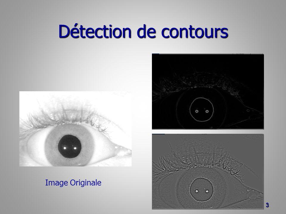 Détection de contours Image Originale
