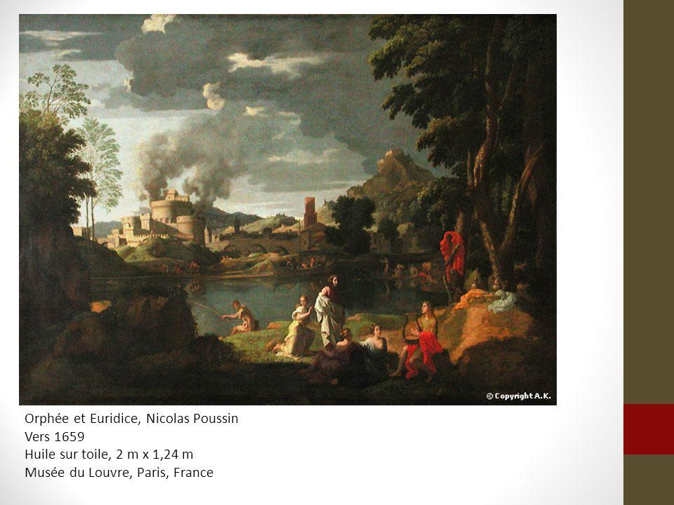Orphée et Euridice, Nicolas Poussin