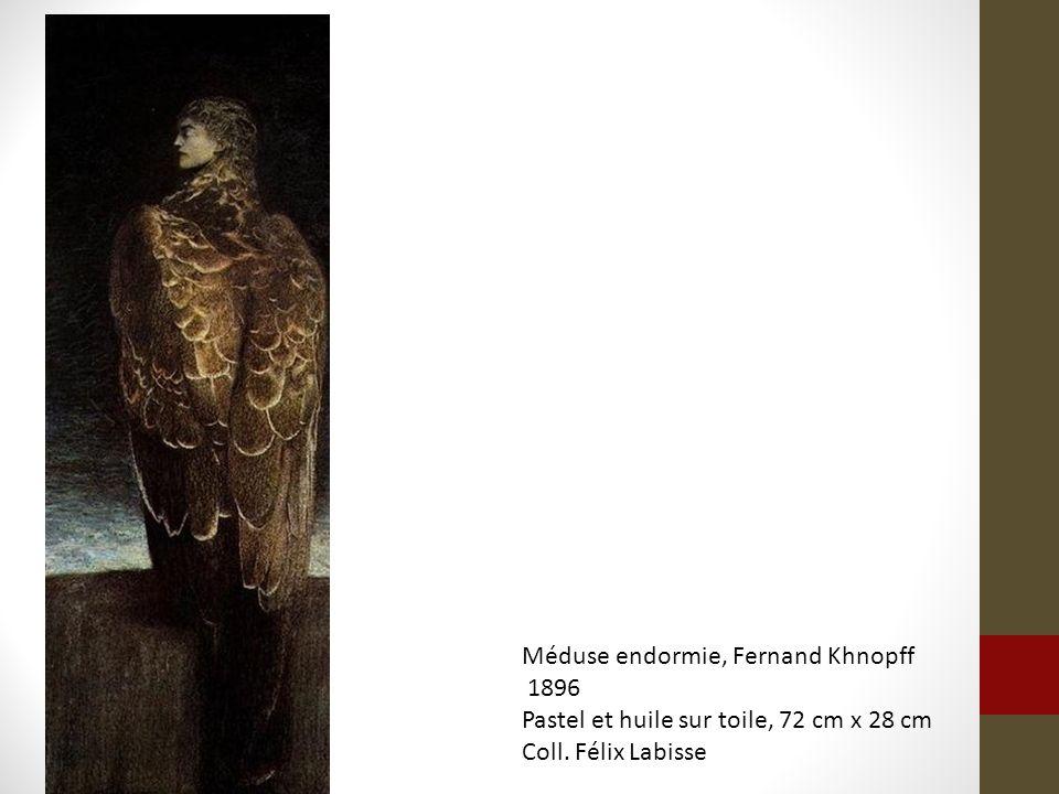 Méduse endormie, Fernand Khnopff