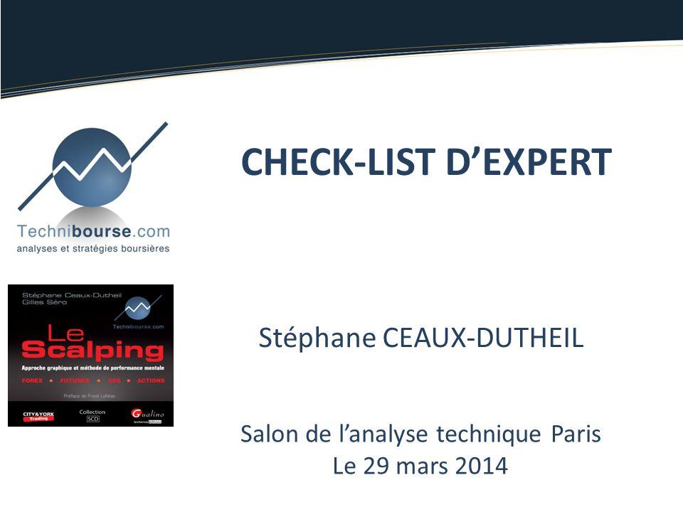 CHECK-LIST D'EXPERT Stéphane CEAUX-DUTHEIL