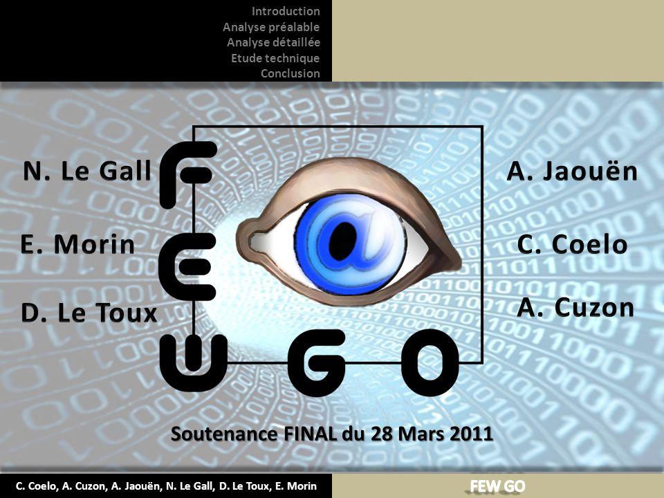 N. Le Gall A. Jaouën E. Morin C. Coelo Cuzon D. Le Toux