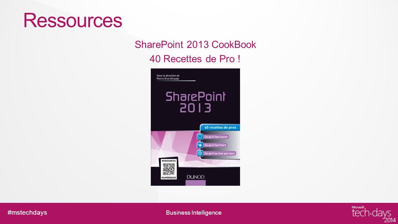SharePoint 2013 CookBook 40 Recettes de Pro !