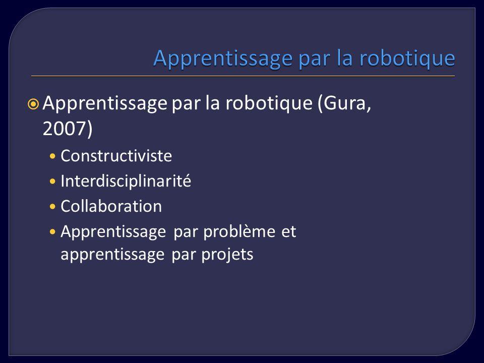 Apprentissage par la robotique
