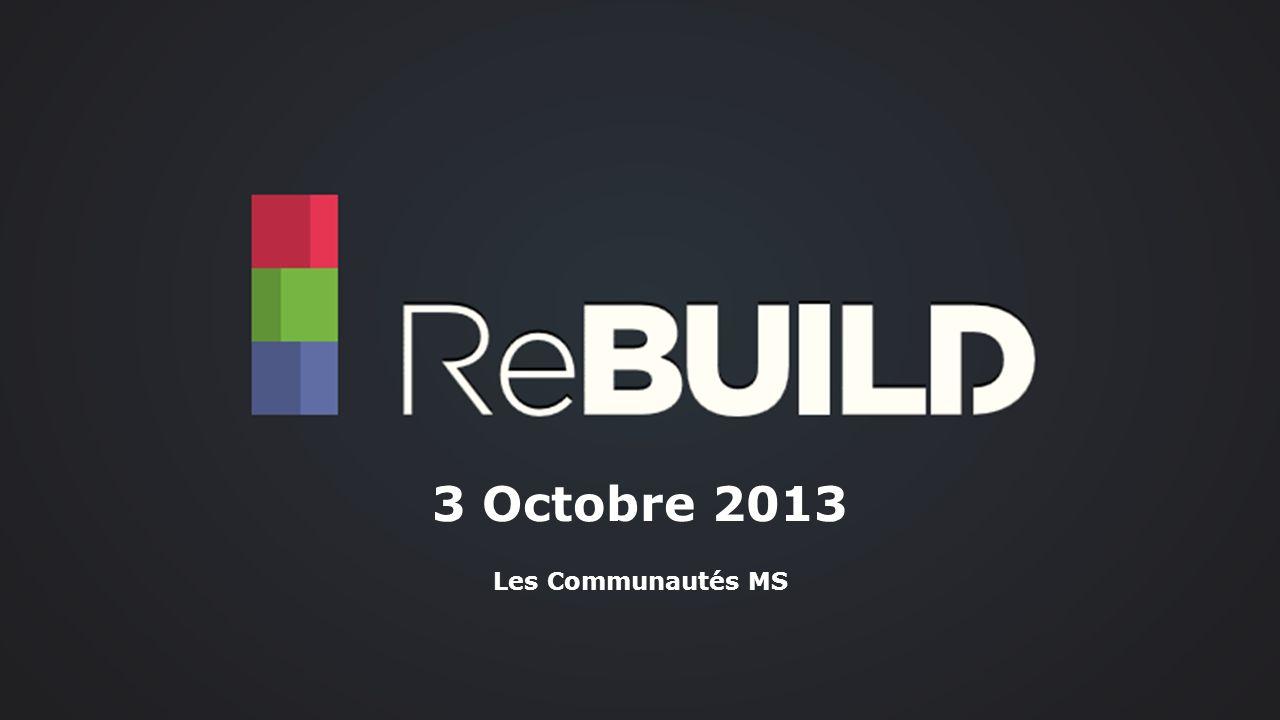 3 Octobre 2013 httpwww.rebuild.fr Les Communautés MS