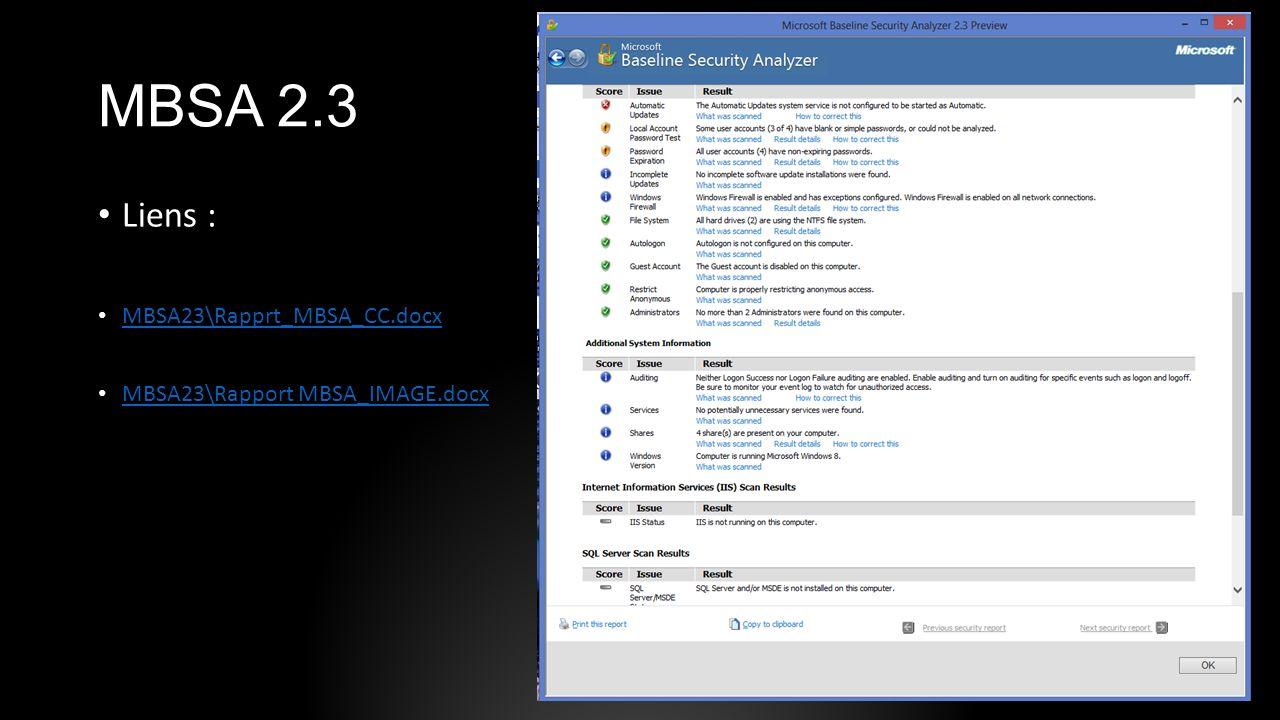 MBSA 2.3 Liens : MBSA23\Rapprt_MBSA_CC.docx