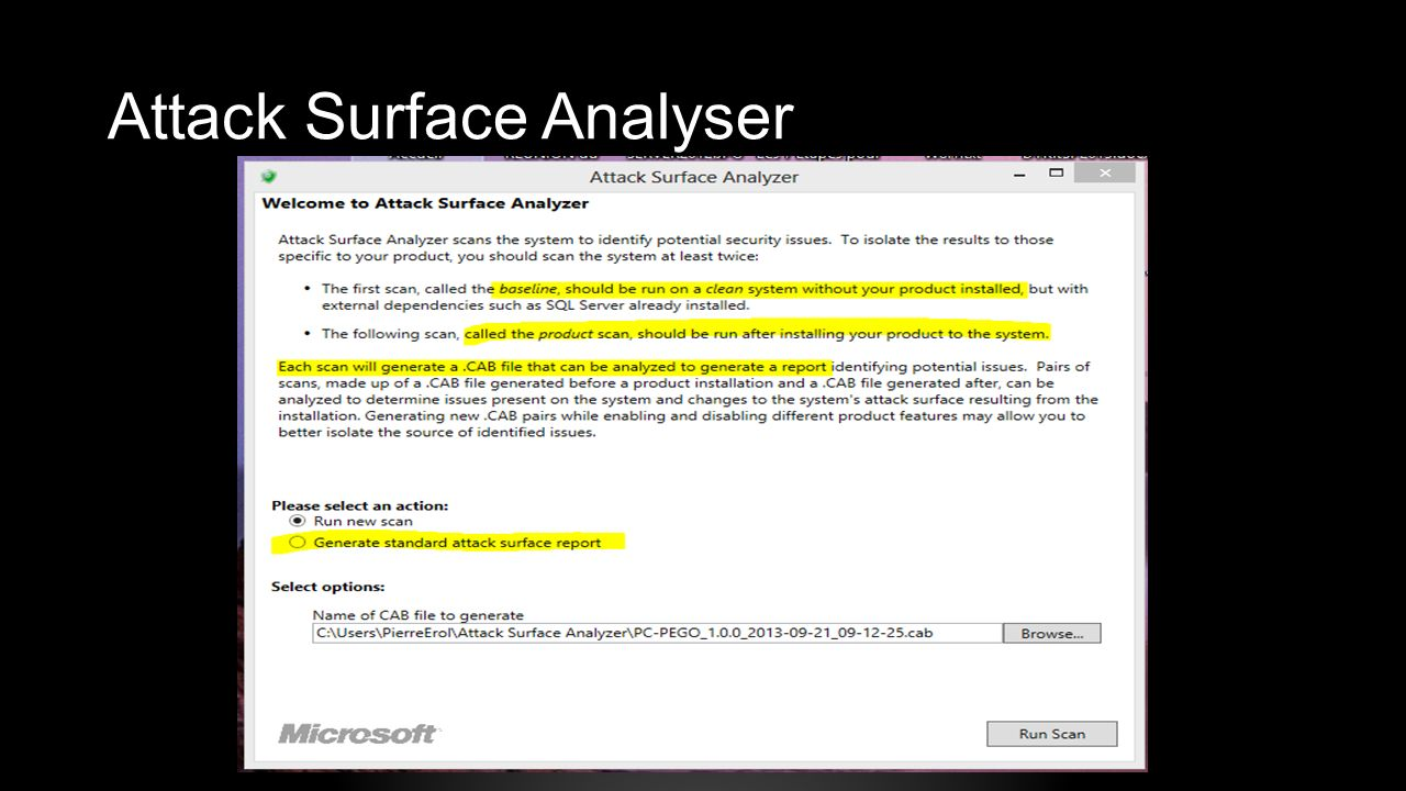Attack Surface Analyser