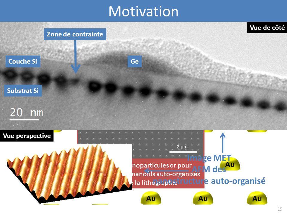 nanostructure auto-organisé