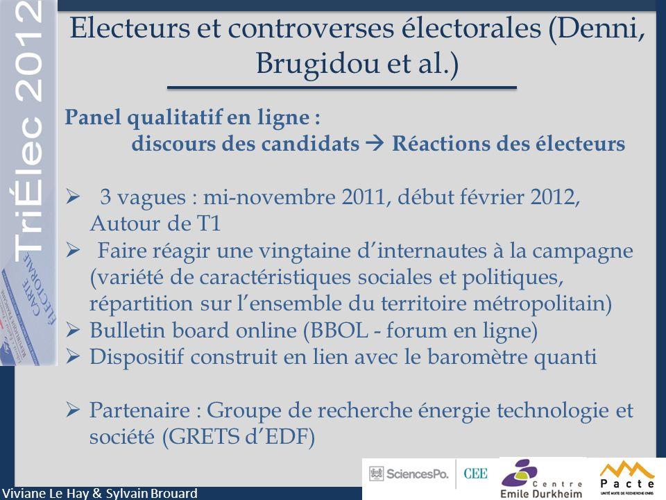 Electeurs et controverses électorales (Denni, Brugidou et al.)