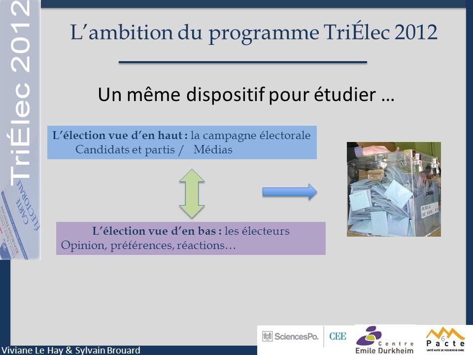 L'ambition du programme TriÉlec 2012