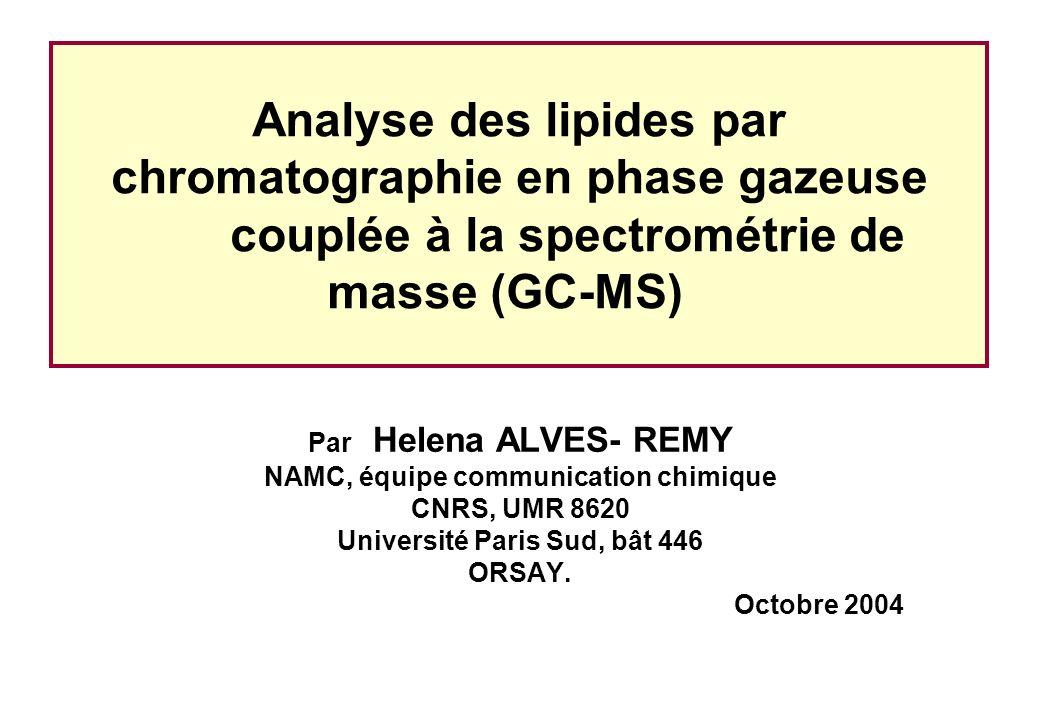 NAMC, équipe communication chimique Université Paris Sud, bât 446