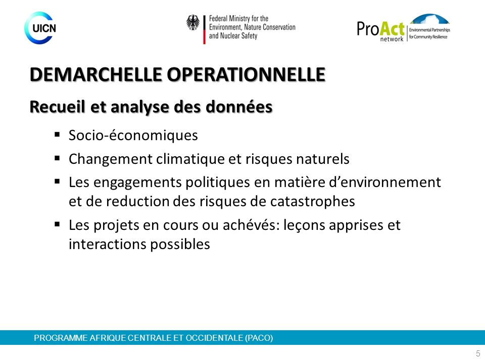 DEMARCHELLE OPERATIONNELLE