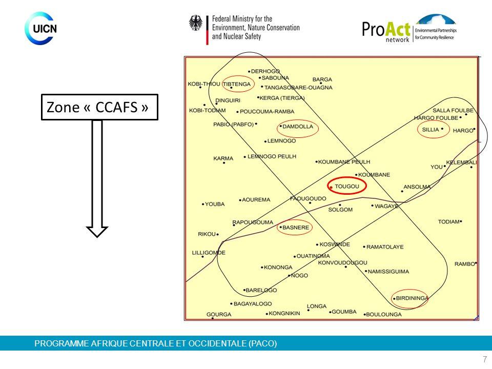 Zone « CCAFS »