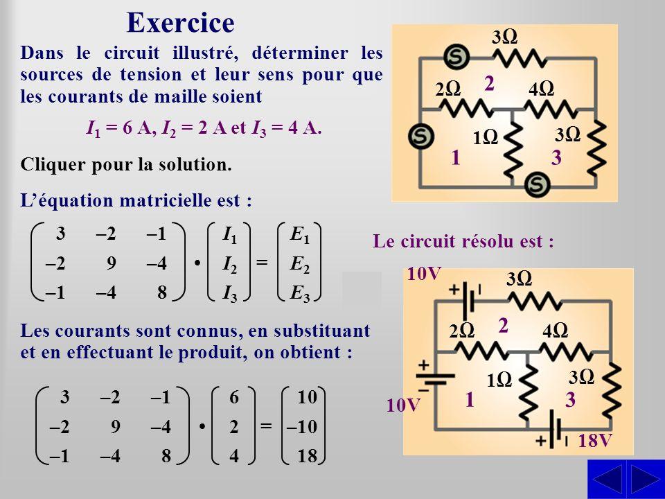 Exercice 3Ω. 1. 2. 3. 2Ω. 4Ω. 1Ω.