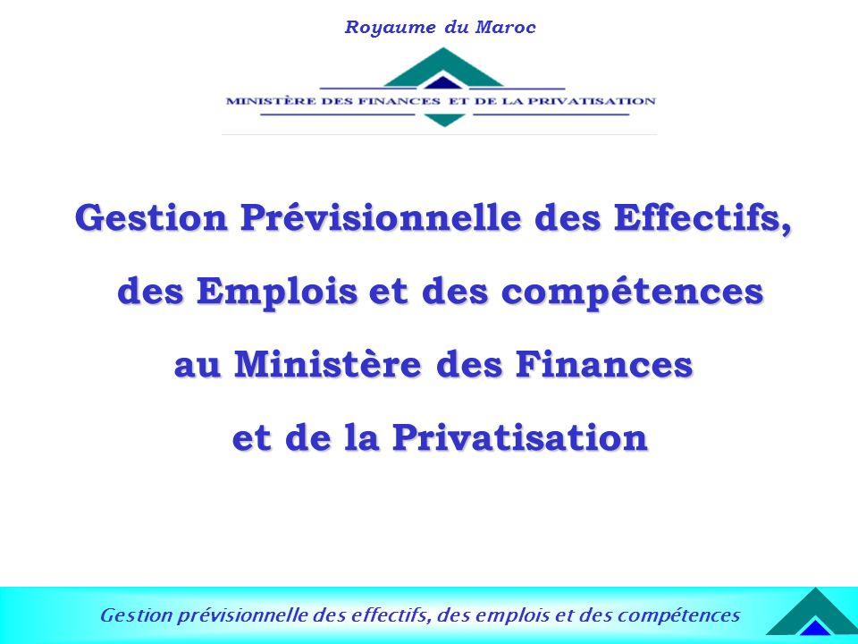 Gestion Prévisionnelle des Effectifs, des Emplois et des compétences