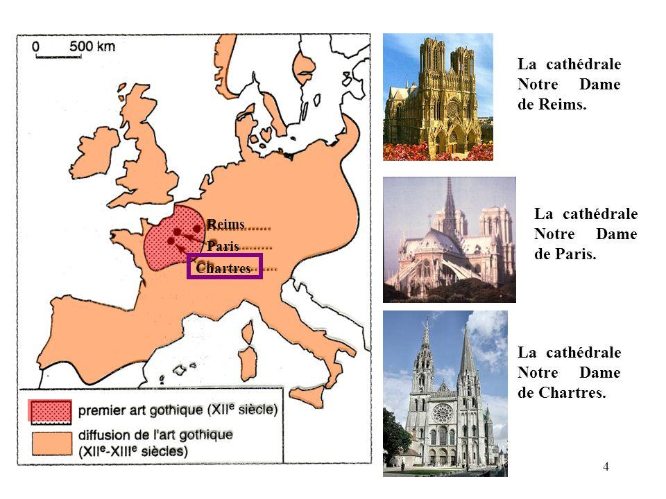La cathédrale Notre Dame de Reims.
