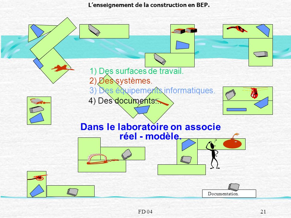 L'enseignement de la construction en BEP.