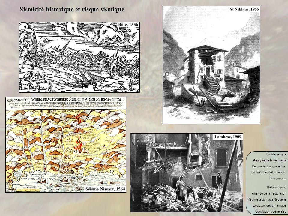Sismicité historique et risque sismique