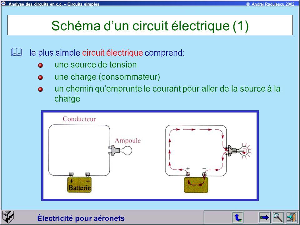 Schéma d'un circuit électrique (1)