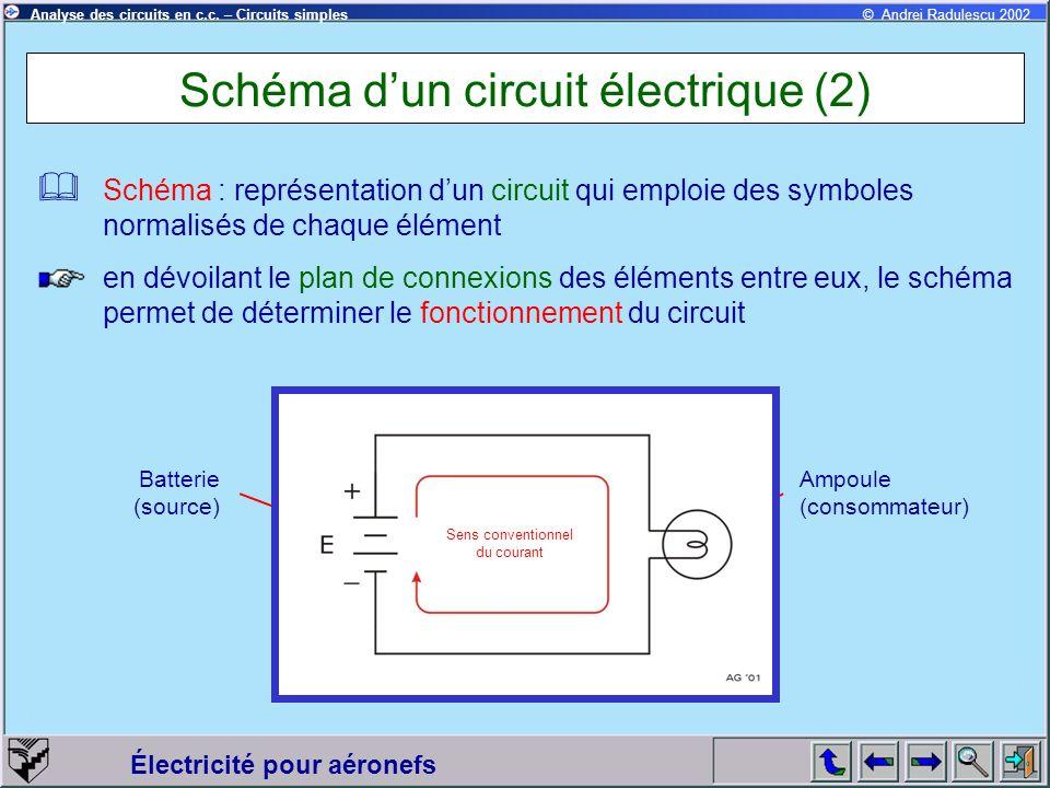 Schéma d'un circuit électrique (2)