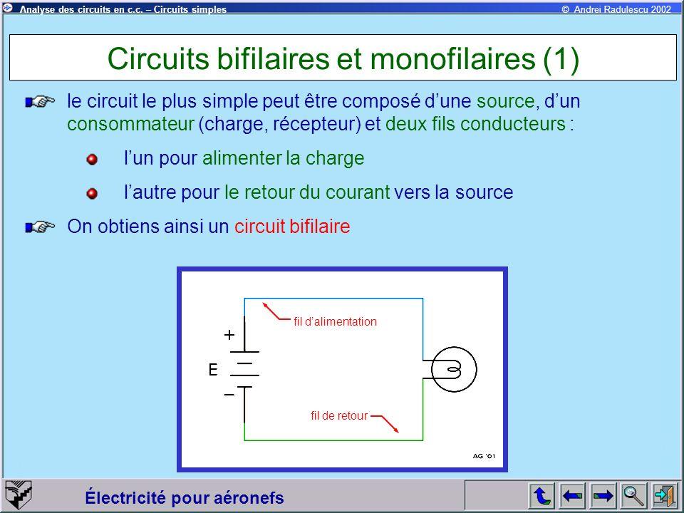 Circuits bifilaires et monofilaires (1)