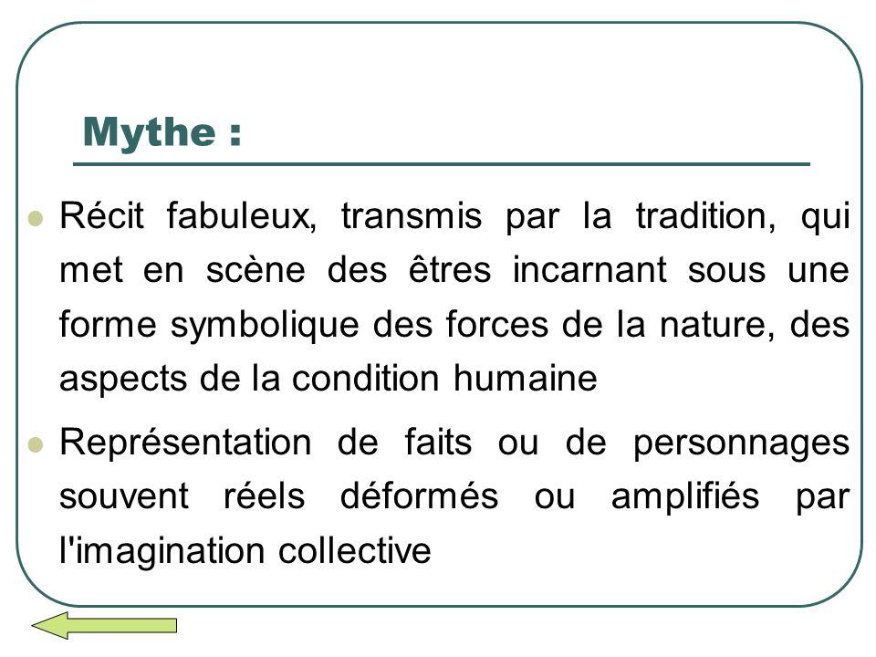 Mythe :
