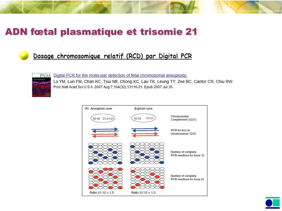 ADN fœtal plasmatique et trisomie 21