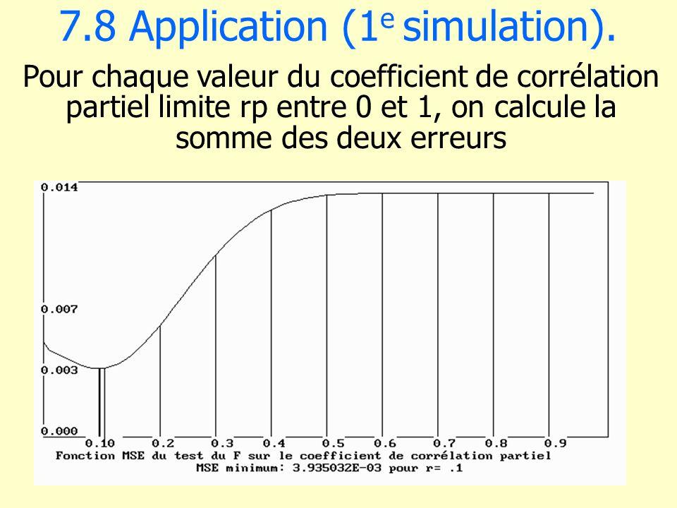 7.8 Application (1e simulation).