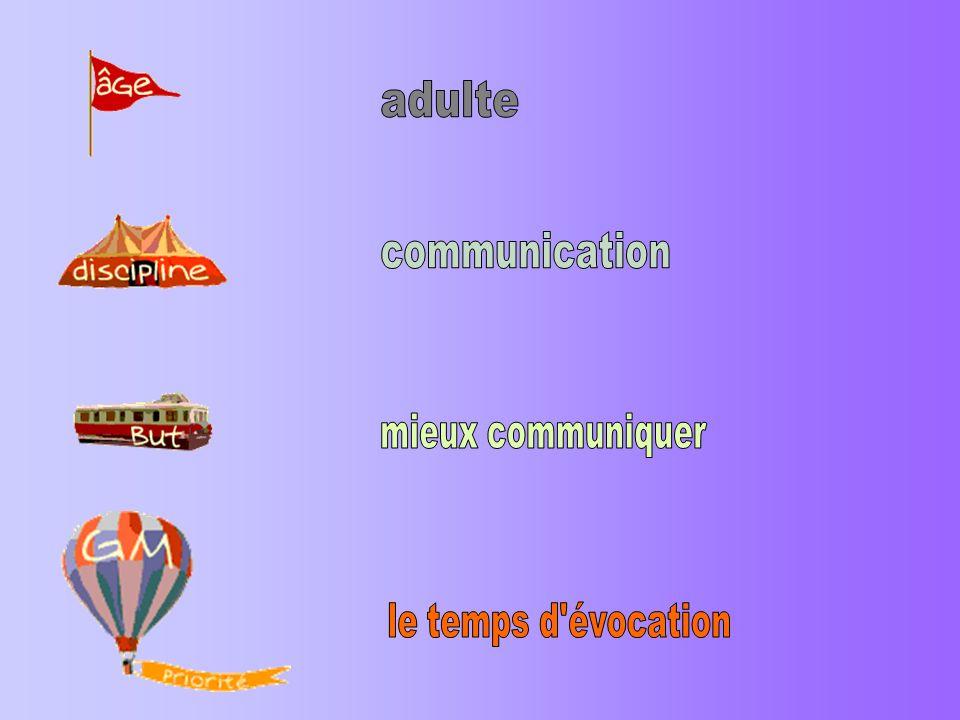 adulte communication mieux communiquer le temps d évocation