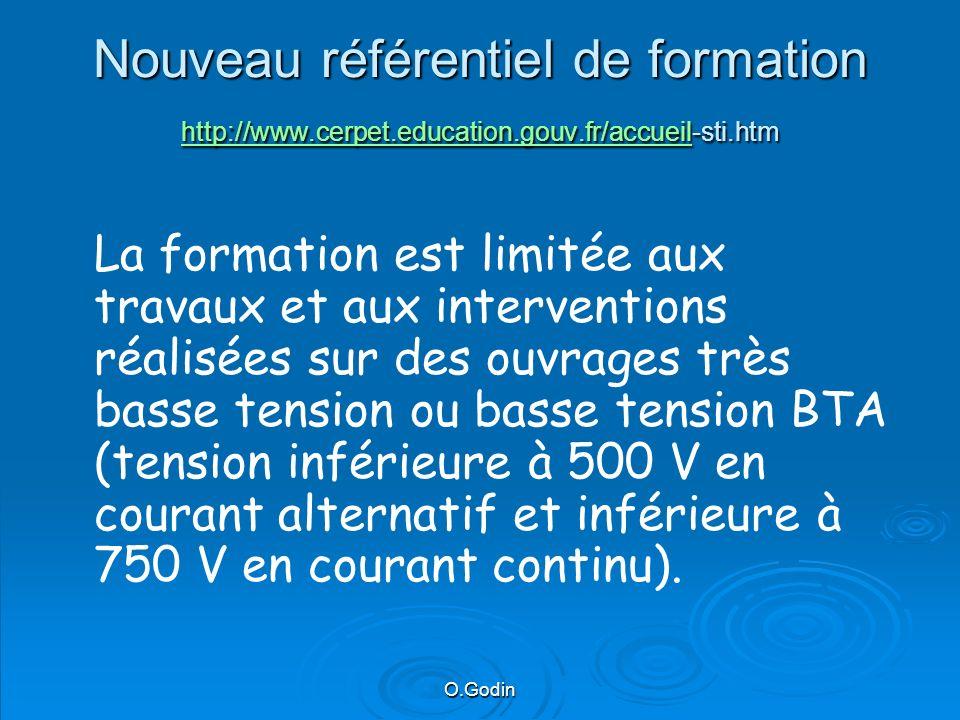 Nouveau référentiel de formation http://www. cerpet. education. gouv