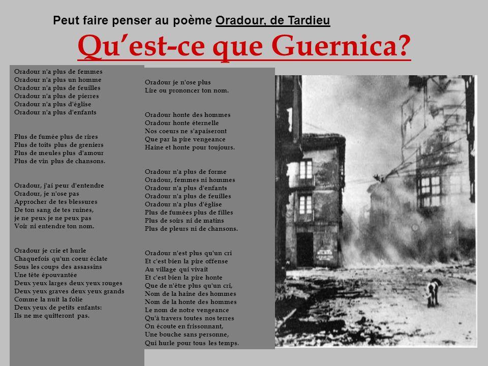 Qu'est-ce que Guernica