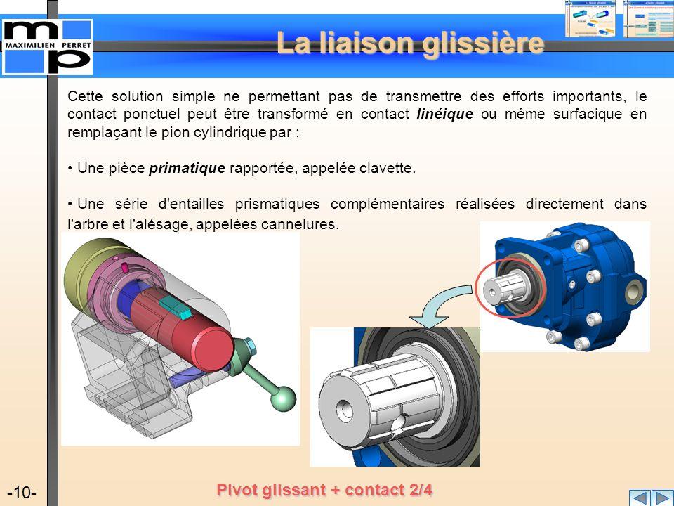 Pivot glissant + contact 2/4