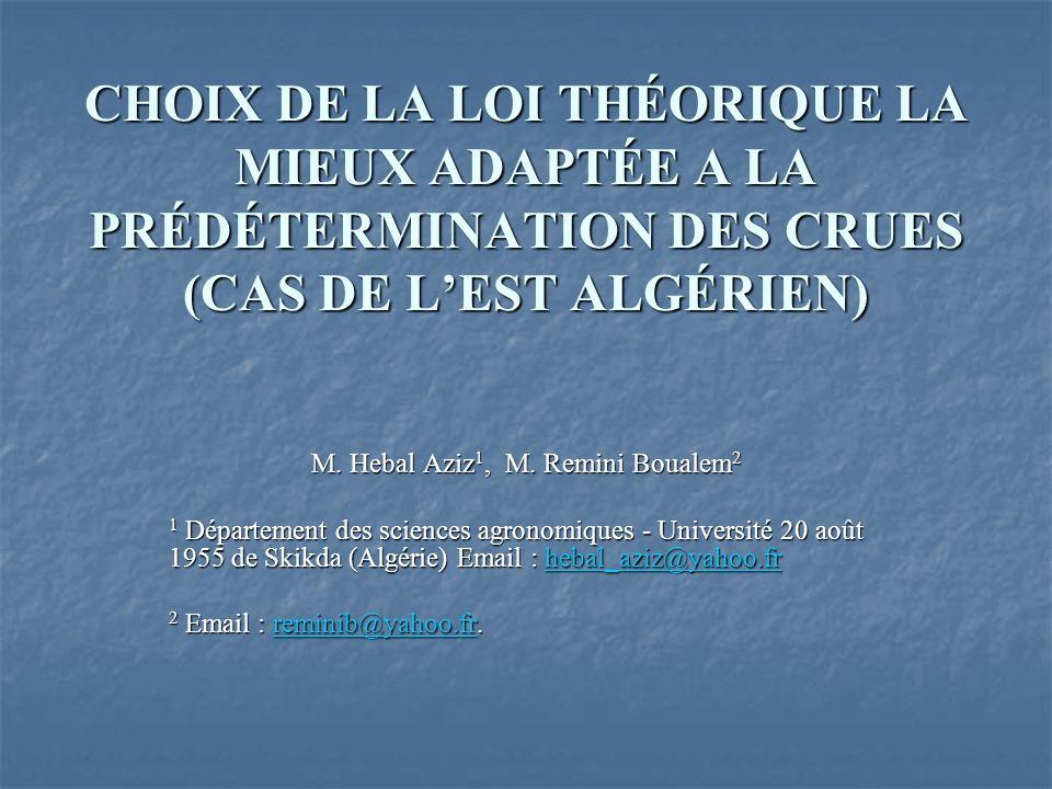 M. Hebal Aziz1, M. Remini Boualem2