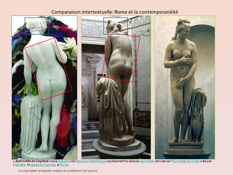 Comparaison intertextuelle: Rome et la contemporanéité
