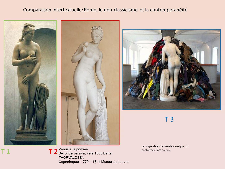Comparaison intertextuelle: Rome, le néo-classicisme et la contemporanéité