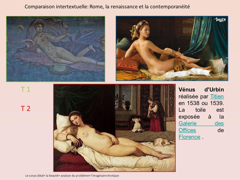 Comparaison intertextuelle: Rome, la renaissance et la contemporanéité