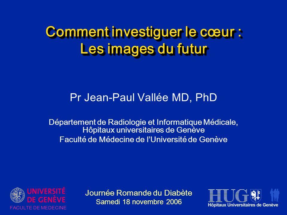 Comment investiguer le cœur : Les images du futur