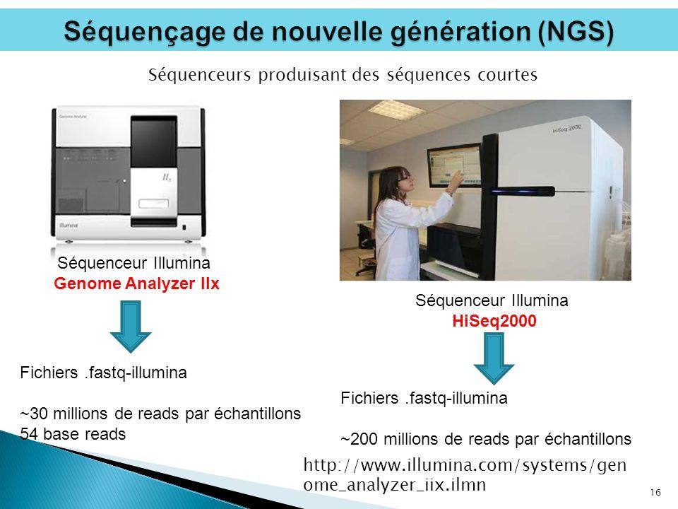Séquençage de nouvelle génération (NGS)
