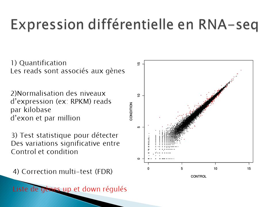 Expression différentielle en RNA-seq