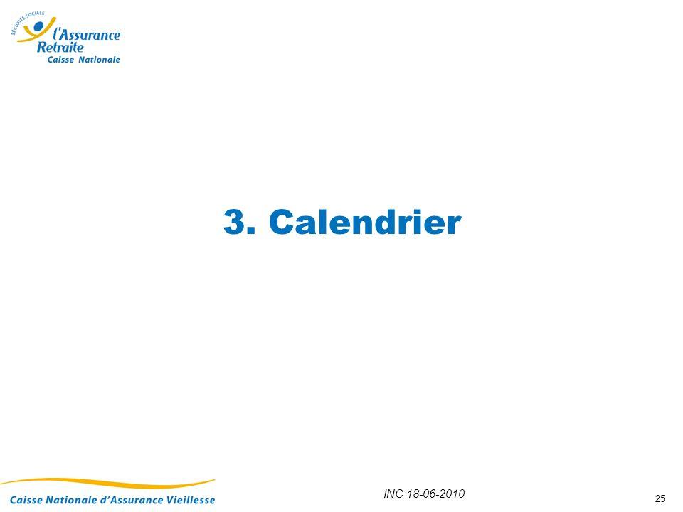 3. Calendrier