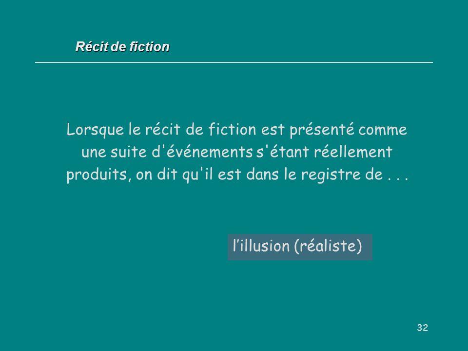 l'illusion (réaliste)