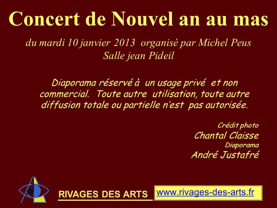 Concert de Nouvel an au mas