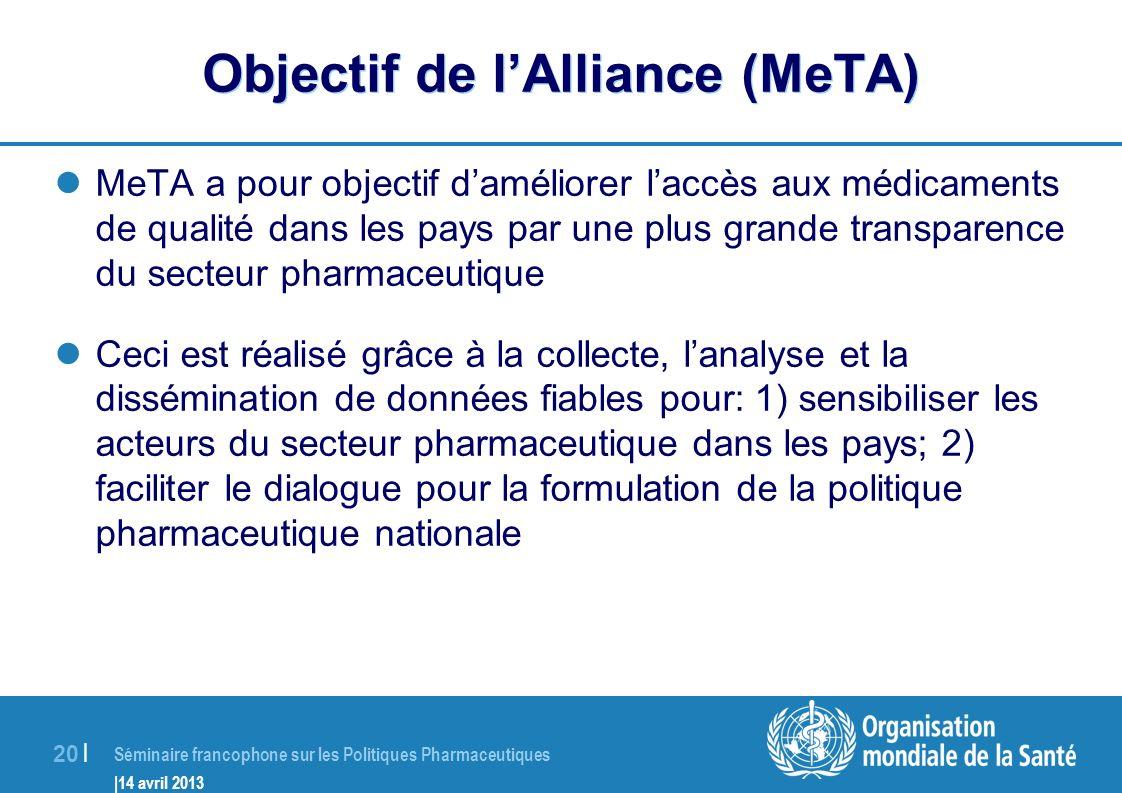 Objectif de l'Alliance (MeTA)