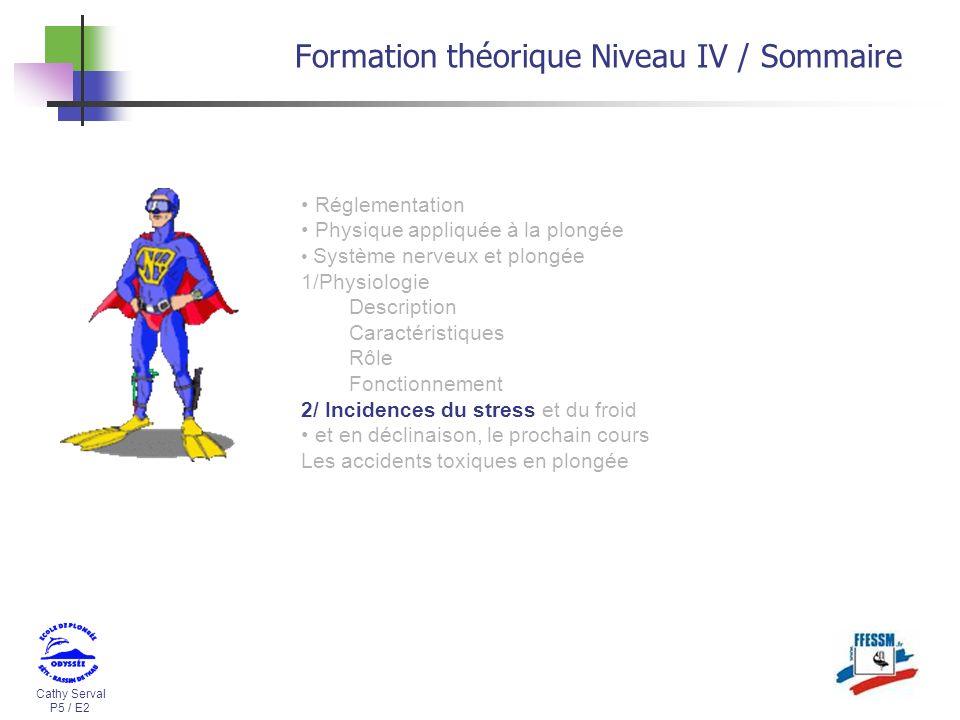 Formation théorique Niveau IV / Sommaire