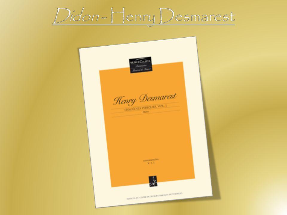 Didon - Henry Desmarest