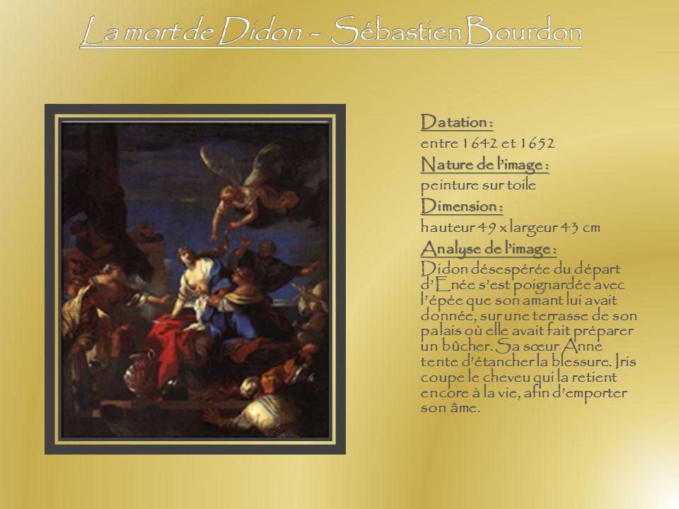 La mort de Didon - Sébastien Bourdon