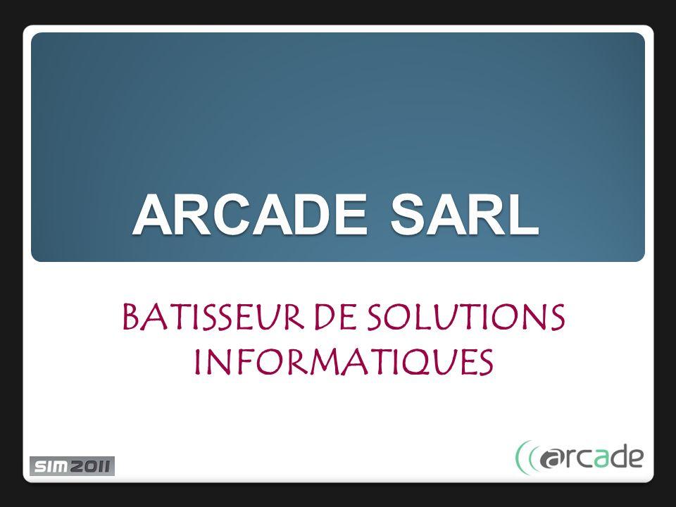 BATISSEUR DE SOLUTIONS INFORMATIQUES