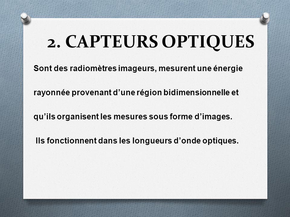 2. CAPTEURS OPTIQUES