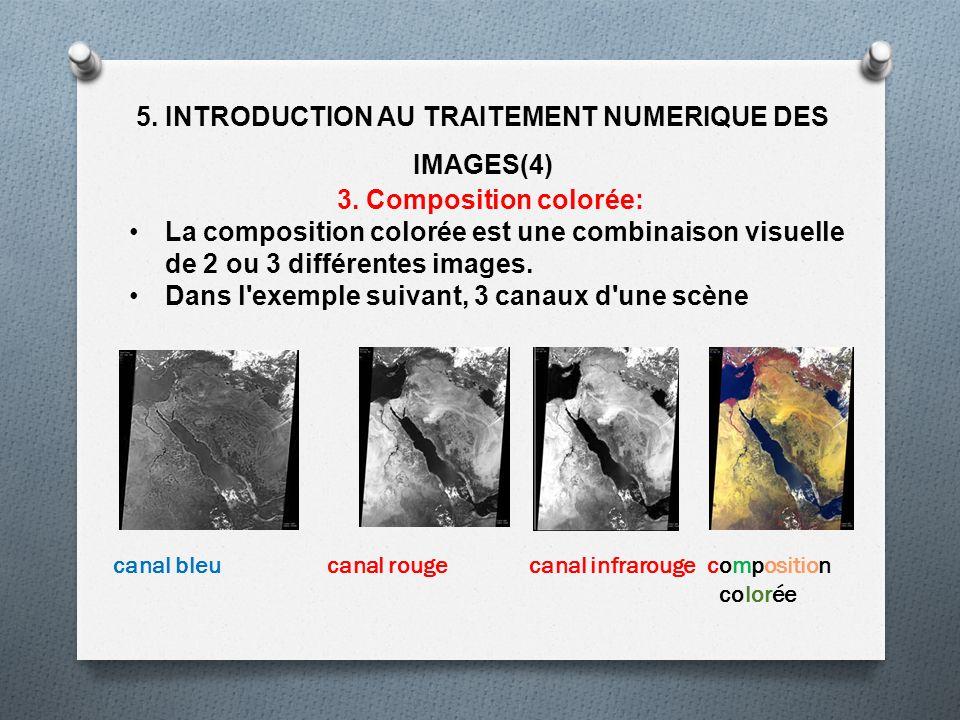 5. INTRODUCTION AU TRAITEMENT NUMERIQUE DES IMAGES(4)