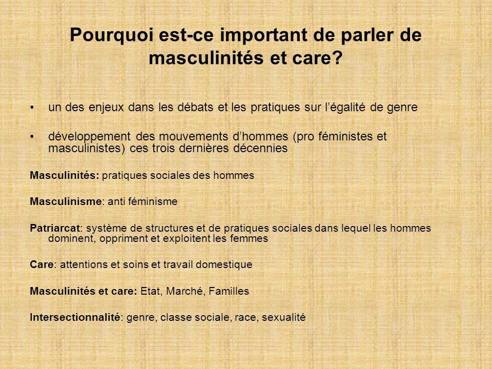 Pourquoi est-ce important de parler de masculinités et care