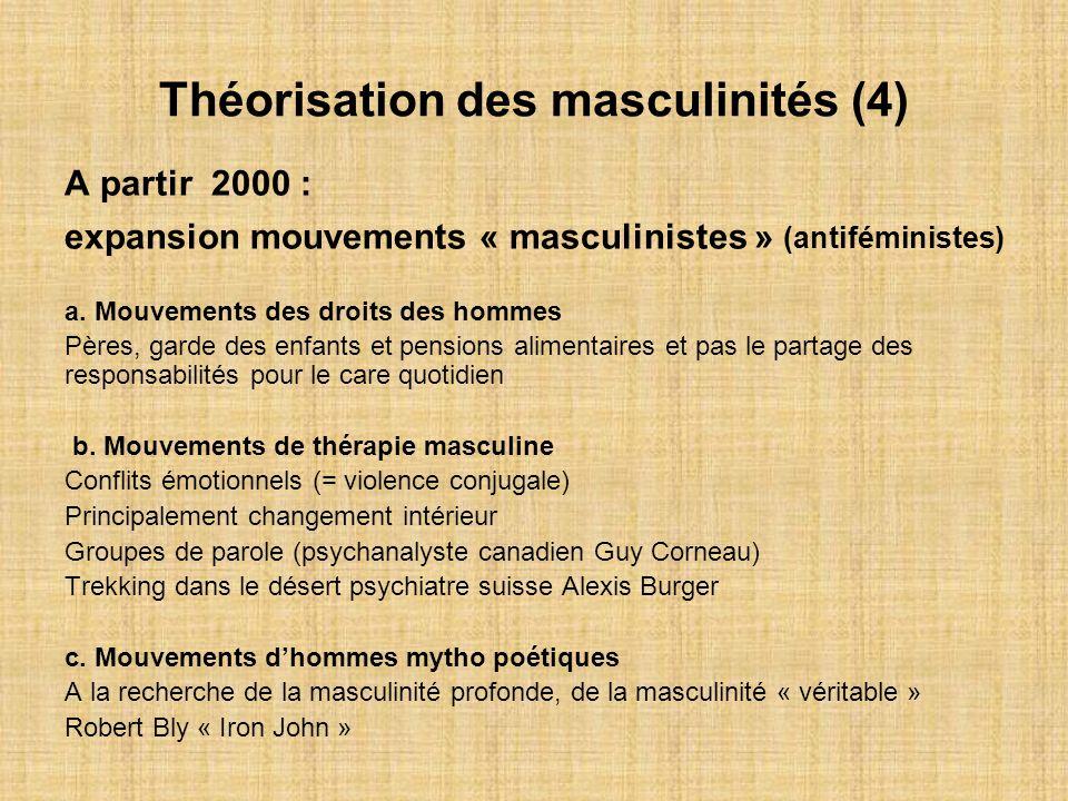 Théorisation des masculinités (4)